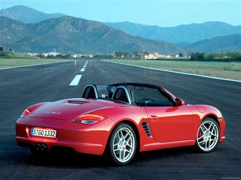 porsche boxster red 2009 porsche boxster s wallpapers