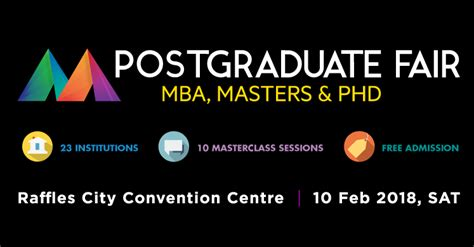 Mba 2018 Conference by Upcoming Event Postgraduate Master Class Fair 2018