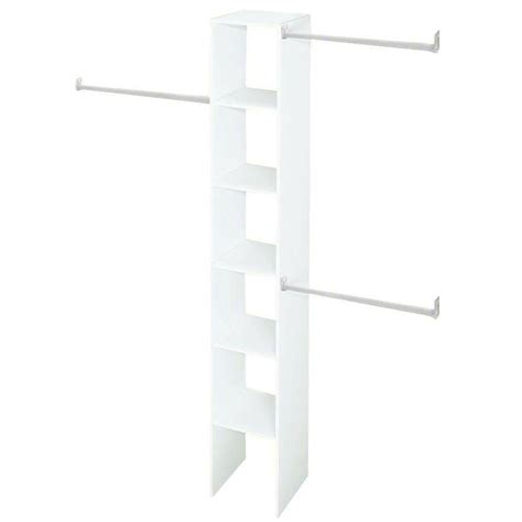 Closetmaid 12 Shelf Closetmaid 12 In White Custom Closet Organizer 7033 The