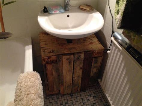 Rustic Bathrooms Ideas badezimmerschrank waschbecken unterschrank aus