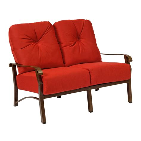 Woodard Cortland Cushion Patio Furniture by Woodard Cortland Cushion Loveseat 4z0419