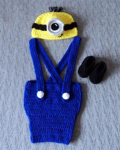 imagenes de minions en crochet traje de minions crochet lussi lu lussi lu
