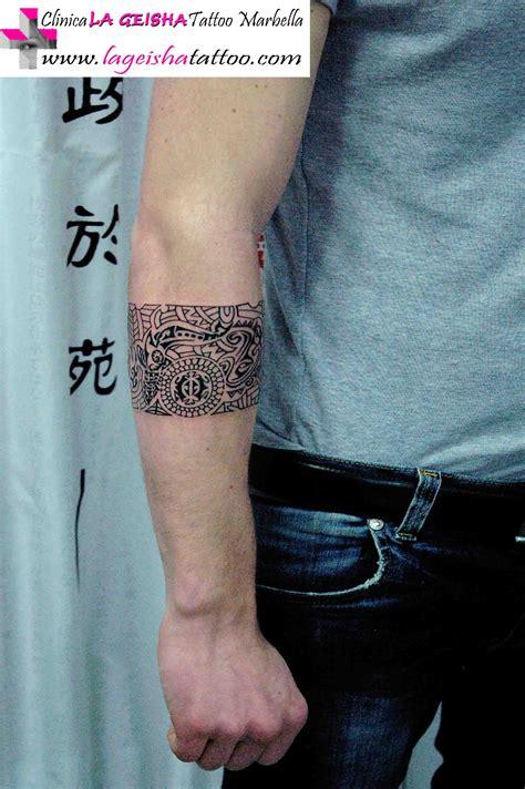 imagenes de brazaletes mayas elegante y exquisito tatuaje de brazalete art 237 stico con
