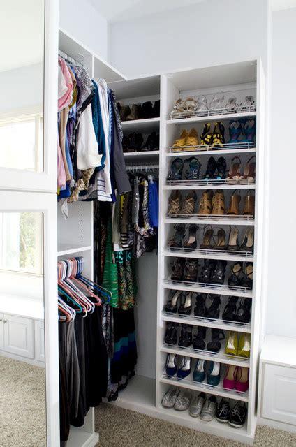 luxurious walk  closet traditional closet