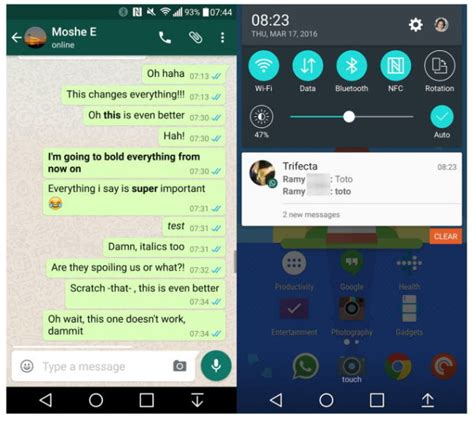audio format supported by whatsapp whatsapp beta lets you format text in bold or italics