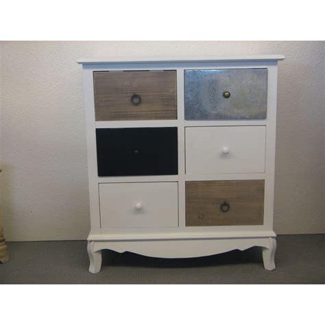 meuble 6 tiroirs meuble de rangement avec 6 tiroirs