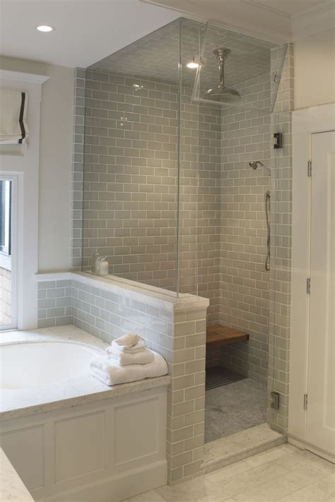 best 25 glass tile shower ideas on bathroom