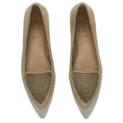 Flat Shoes Wanita Suede Lucuunikmurah ravel s anaconda suede pointed flat shoes free uk delivery