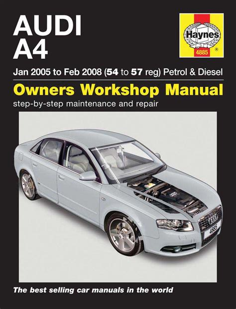 how to download repair manuals 1997 audi a4 user handbook haynes owners workshop car manual audi a4 petrol diesel 2005 2008 4885 ebay