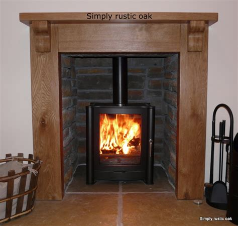 bespoke country cottage rustic oak surround