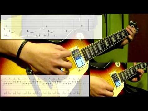 tutorial hysteria guitar muse hysteria guitar cover play along tabs in video