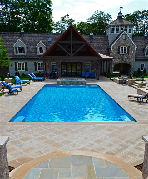 Patio And Pool Designs Square Patio Swimming Pool Ideas Quecasita