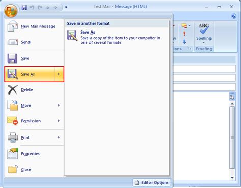 save outlook email as template create and save email template in outlook as oft