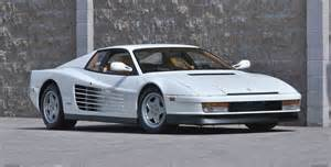 Testarossa White Car Picker White Testarossa