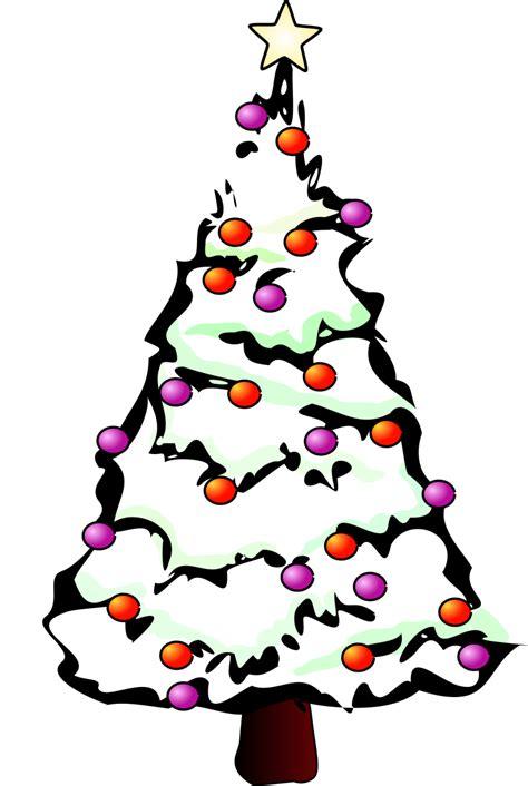 christmas tree clipart black  white clipartioncom
