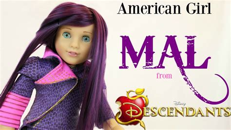 american girl mal doll review youtube