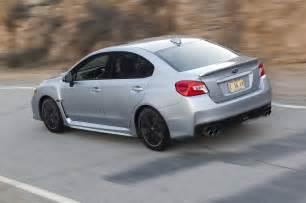 2015 Subaru Sti Hatchback 2015 Subaru Wrx Rear Side Motion View Photo 21