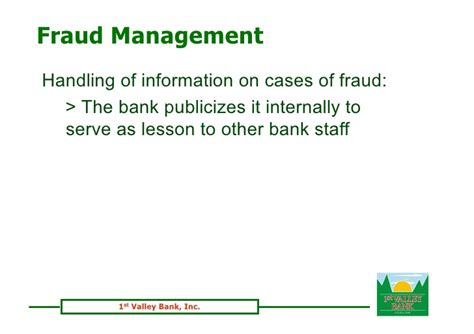 bank fraud detection fraud prevention detection and management
