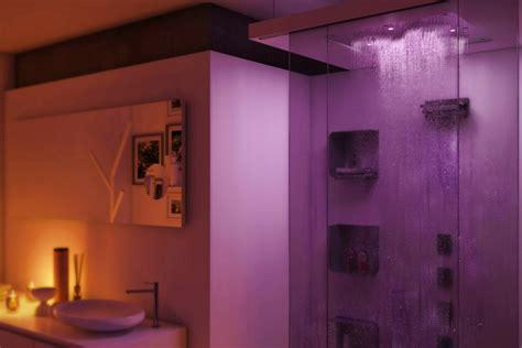 illuminazione doccia con led come illuminare la doccia di casa con la cromoterapia