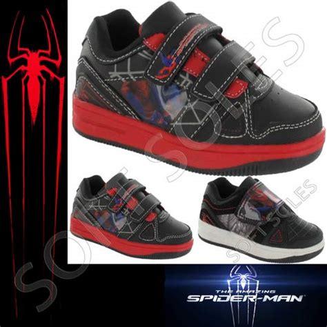 spiderman house shoes boys amazing spiderman shoes kids black skate baseball