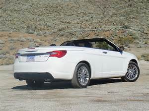 Chrysler Convertible 2012 Drive 2012 Chrysler 200 Convertible Leblanc