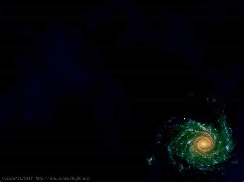 powerpoint background  galaxy heartlight