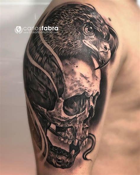 tattoo my photo 2 0 pro calavera y 225 guila skull and eagle realizado en
