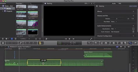 Tutorial Final Cut Pro Bahasa Indonesia | audio and music in final cut pro x how to import and adjust