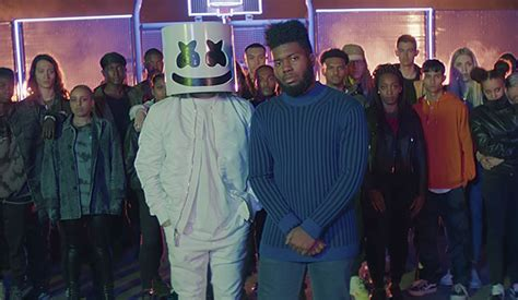 marshmello khalid video marshmello feat khalid silence rap up