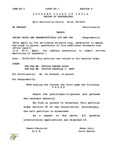 consent to judgment in terms of section 58 judgement against writ civil 90 of 2016
