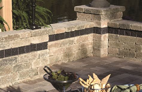 Unilock Wall brussels by unilock hammond farms landscape supply