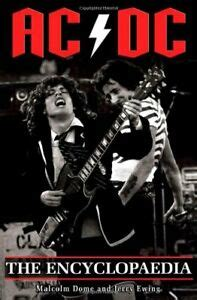 acdc  encyclopaedia  jerry ewing paperback book