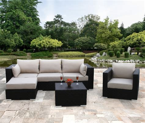 houzz outdoor furniture palermo 6 modular seating by sirio contemporary