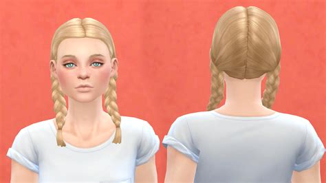 sims 4 female braids my sims 4 blog base game compatible outdoor retreat