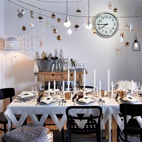 years eve home decorations good housekeeping