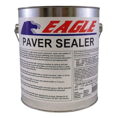Acrylic Sealer eagle 1 gal seal penetrating clear water based
