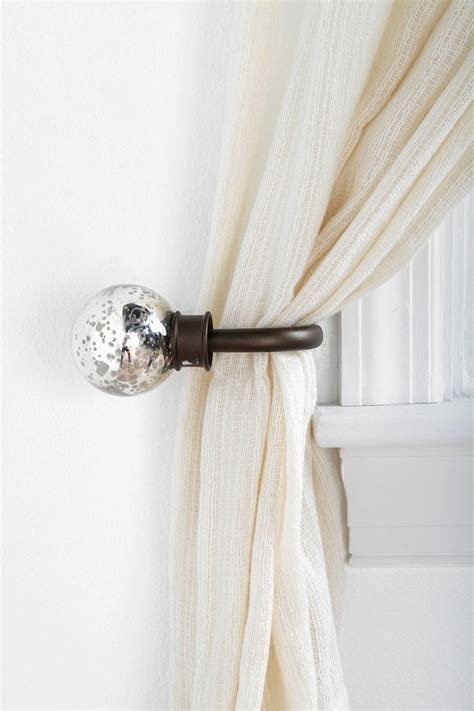 how to install curtain tie backs mercury glass curtain tie back urban outfitters