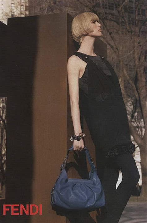 Fendis 2008 Advertising Caign by Raquel Zimmerman Fendi Fall Winter 2008 2009 Ad Caign