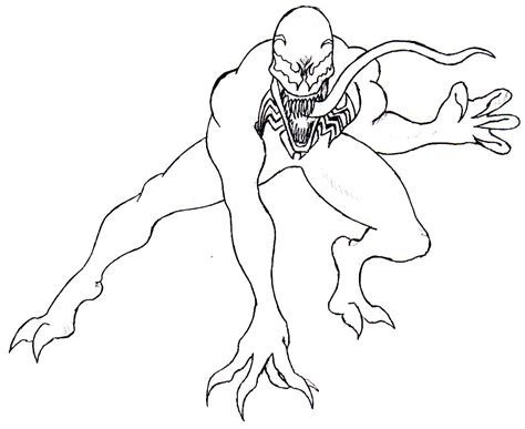 venom coloring book free coloring pages art coloring pages