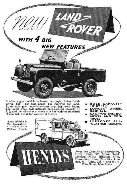 vintage land rover ad 36 best images about vintage land rover ads art on