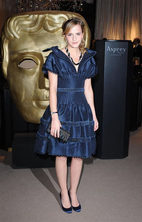 Watson Wears Chanel Again At The Harry Potter La Premier by Watson At The 2010 Baftas 1353471 Harry Potter Forum