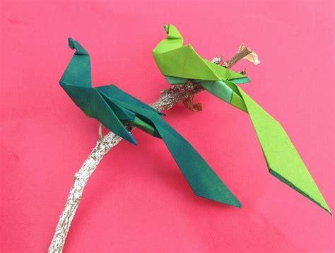 Bird Of Paradise Origami - bird origami paper quot bird of paradise quot origami