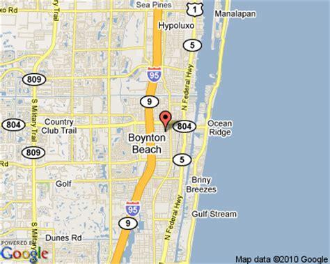 map of florida boynton boynton florida palm county gold coast