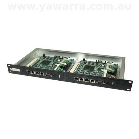 Dual Rack by Rackmount Enclosures For Alix Net5501 Net6501 Yawarra