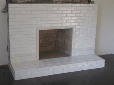 subway tile fireplace san diego tile fireplace photos custom masonry and