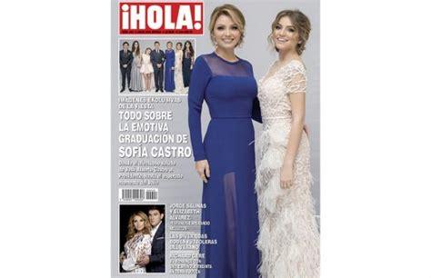 imagenes revista hola angelica rivera acaparan sof 237 a castro y ang 233 lica rivera portada de la