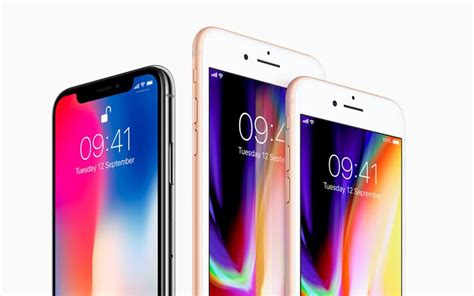 iphone x uk how do the iphone x and iphone 8 compare