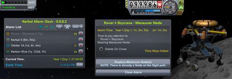 1 4 x kerbal alarm clock v3 9 0 0 mar 17 add on releases kerbal space program forums