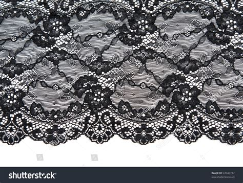 pattern html form black lace with pattern with form flower on white