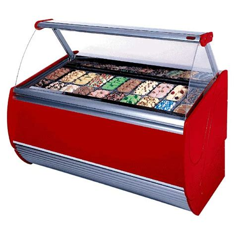 Freezer Gelato commercial display lighting promolux lighting international
